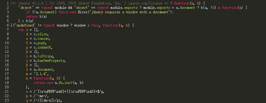 格式化并高亮代码