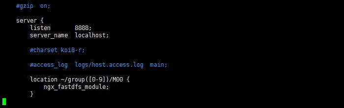 修改 nginx.conf 文件